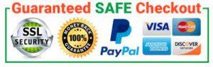 guaranteed safe checkout paypal