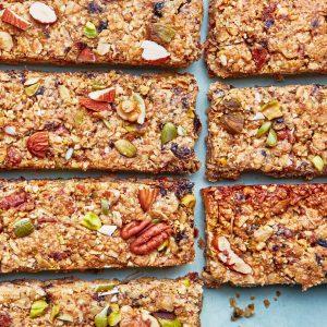 chia seed granola bars recipe